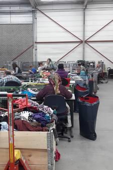 Van 300 ton naar 500 ton kleding per jaar in sorteercentrum Schijndel
