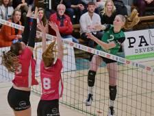 Britt Rössler wil bij Alterno de beslissende ballen ook gaan scoren, net als haar voorbeeld Lonneke Sloetjes