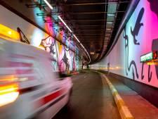 Le look artistique du tunnel de la Porte de Hal