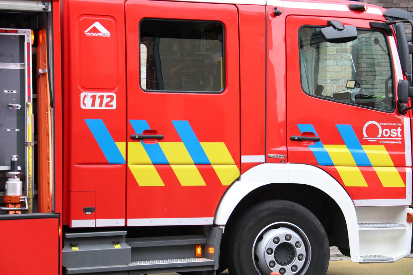 De brandweer had enkele uren nodig om het gebouw volledig te verluchten.
