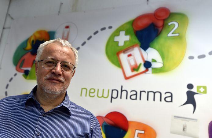 Jérôme Gobbesso, cofondateur et CEO de Newpharma