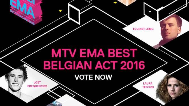 Emma Bale en Laura Tesoro in race voor MTV EMA 2016