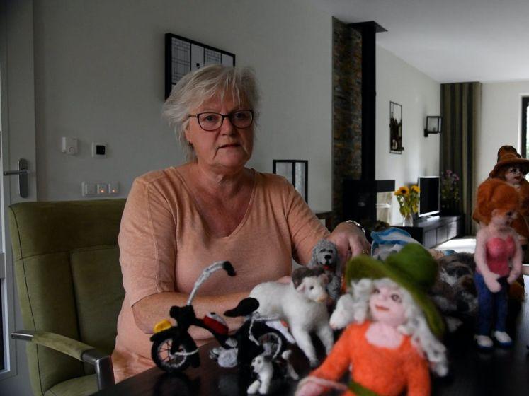 Een kat, hond of geit: Fenny (68) maakt overleden dieren na van wol