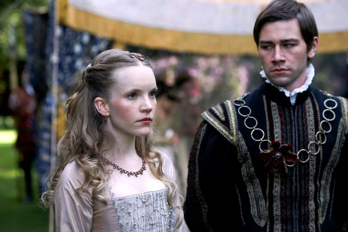 Tamzin Merchant in 'The Tudors'