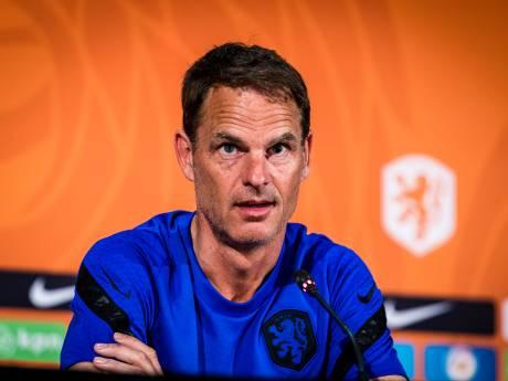 De Boer geeft duidelijkheid: De Ligt haalt Oekraïne niet, Stekelenburg keeper in '3-5-2 systeem'