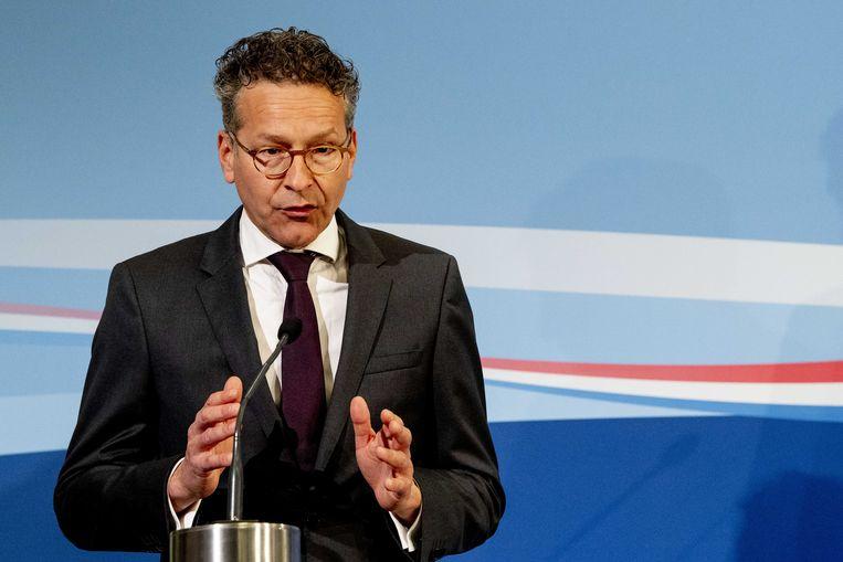 Voorzitter Jeroen Dijsselbloem van de beoordelingsadviescommissie Nationaal Groeifonds.  Beeld ANP