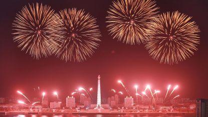 Noord-Korea viert verjaardag Kim Il-sung met groots vuurwerk
