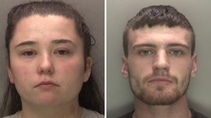 Nicola Priest en Callum Redfern werden veroordeeld voor de dood op Kaylee-Jade Priest