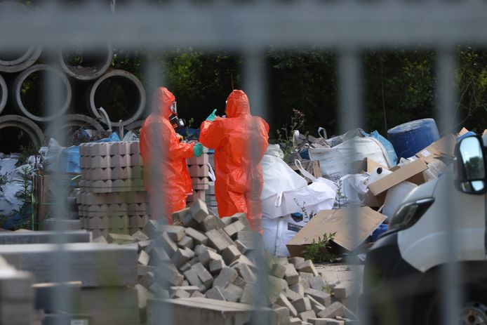 Drugsdumping op gemeentewerf in Liempde.