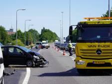 Gewonde bij aanrijding op A27 in Oosterhout