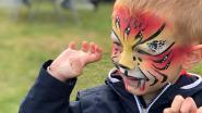 Kinderen kunnen zondag volop ravotten en spelen in Wenduine