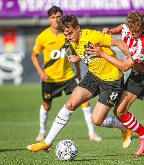 Zelfkritische De Rooij lijkt draai te vinden bij NAC: 'Meer slechte dan goede wedstrijden gespeeld'