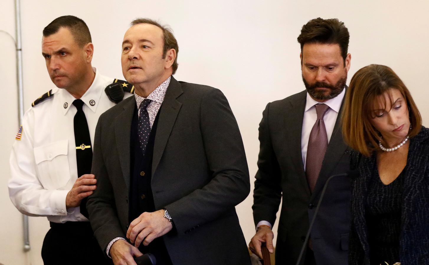 Kevin Spacey a fait l'objet de plusieurs affaires d'inconduite sexuelle qui ont toutes été classées sans suite, tant au civil qu'au pénal.