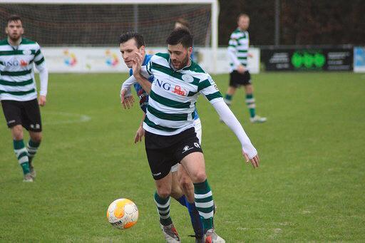 Dennis Kovacevic was zondag belangrijk voor Zeelandia Middelburg.