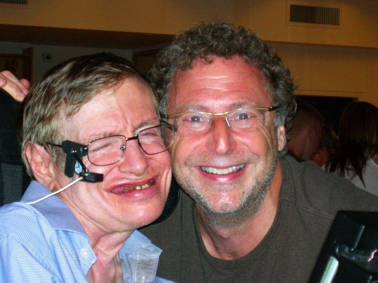 Stephen Hawking en Leonard Mlodinow. Beeld Privébeeld