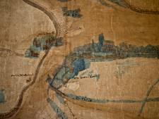 Deze kaart van de regio uit 1540 werd per toeval ontdekt op een kast in het archief