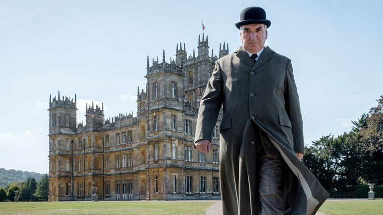 Jim Carter in Downton Abbey. Beeld /
