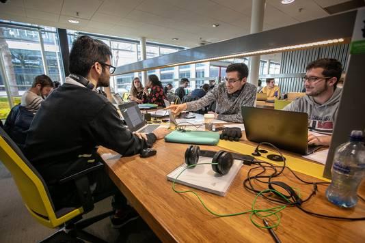 Eindhoven buitenlandse studenten op TU/e.