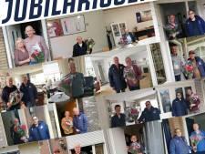 Jubilarissen bij SV De Braak: zilver, robijn maar ook een van 80 jaar