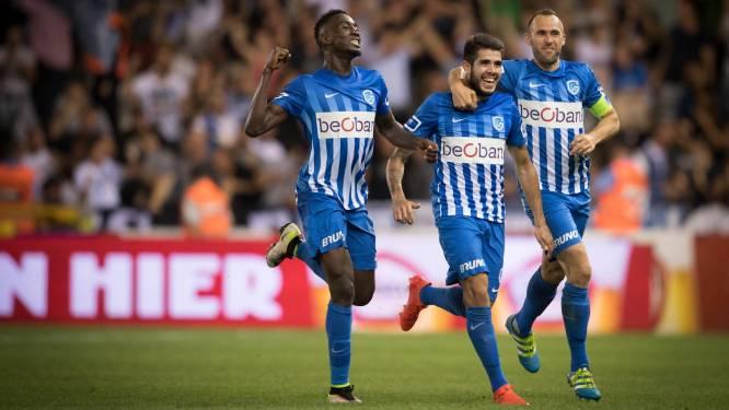 Pozuelo schiet Genk met de perfecte krul naar de tweede plaats (1-0)
