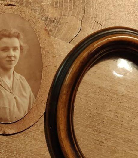 Floor koopt fotolijstje in kringloopwinkel en staat nu voor een raadsel: wie is tante Lies?