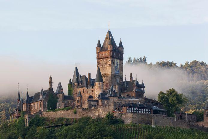 Het sprookjesachtige kasteel van Cochem.