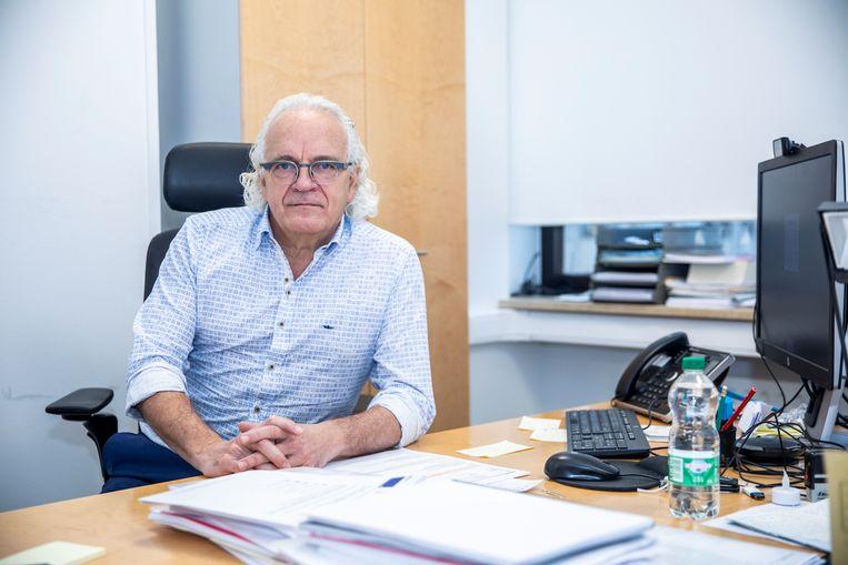 Marc Noppen, longarts en CEO van het UZ Brussel.  Beeld BELGA