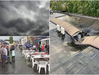 Dak van Action begeeft het onder inbeukende regen, stortvlaag veroorzaakt kortsluiting en rookontwikkeling in woonzorgcentrum