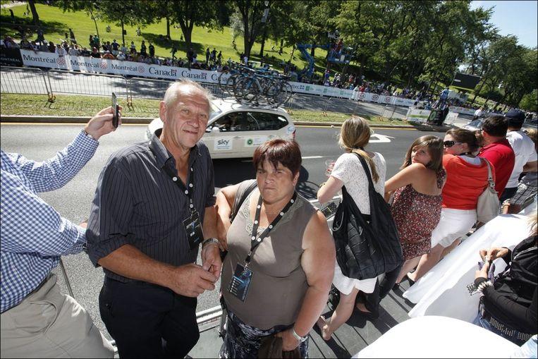 De ouders van Gilbert waren er ook. Beeld PHOTO_NEWS