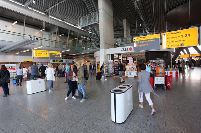 Geen extra controles op Eindhoven Airport