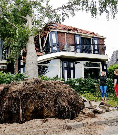 Schade van noodweer in Leersum loopt in de tonnen, meldingen lopen nog steeds binnen
