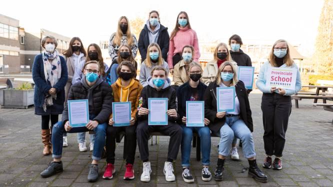 Leerlingen Provinciale School Diepenbeek schrijven hartverwarmende steunbrieven aan Jessa Ziekenhuis