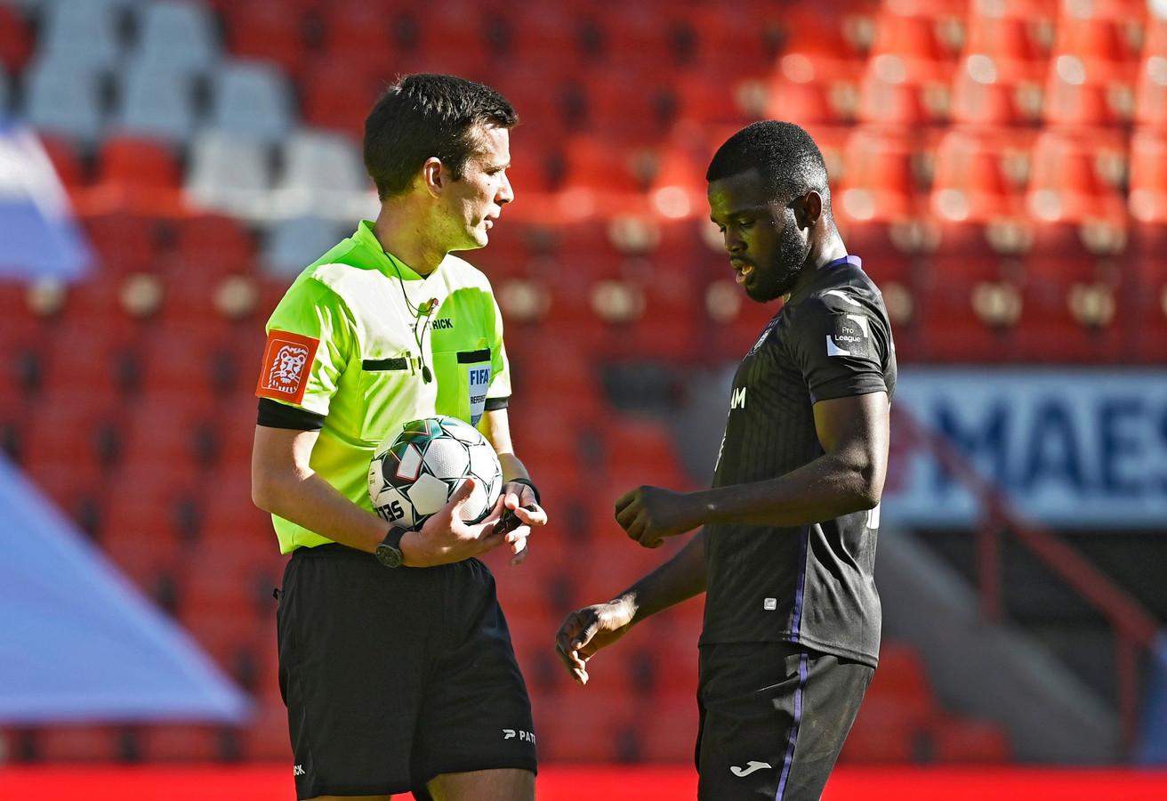 Averti après deux minutes de jeu, Kemar Lawrence a doublé la mise pour Anderlecht en seconde période.