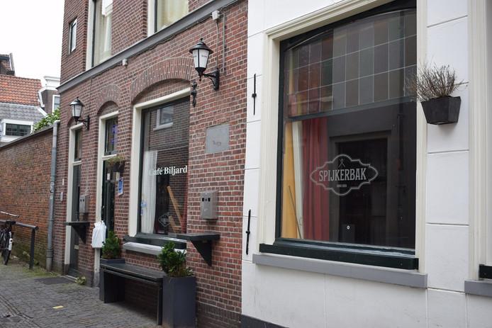 De Spijkerbalk in Leiden