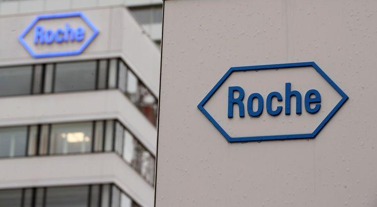 Het hoofdkantoor van Roche in het Zwitserse Basel.  Beeld REUTERS