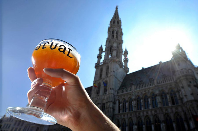 Belgian Beer Weekend sur la Grand Place de Bruxelles