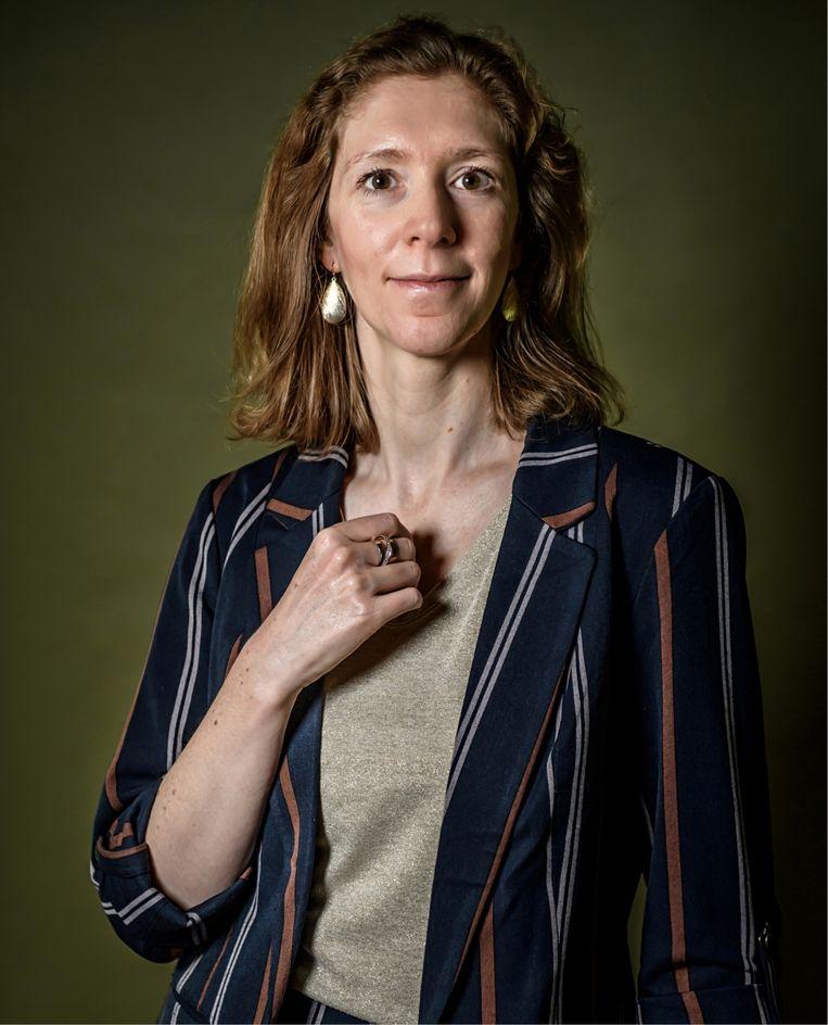 Isabelle Ryckaert: 'Ik wist eigenlijk niet waarom ik een kind wilde. Het is een soort oerinstinct diep vanbinnen.' Beeld Geert Van de Velde