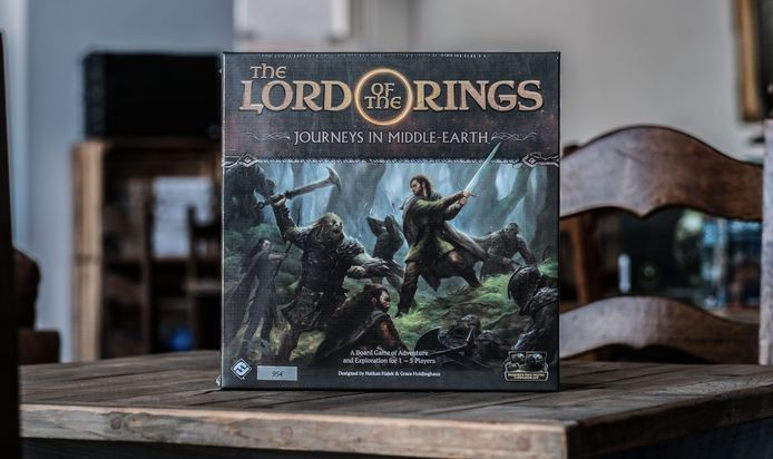 The Lord of the Rings, in een bordspel