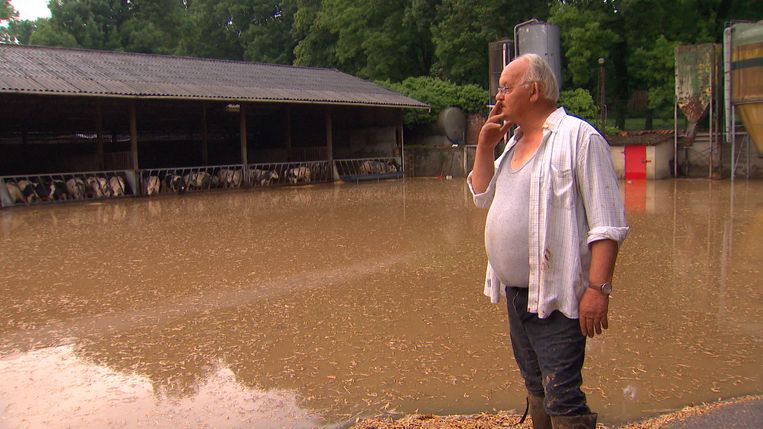Boerderij uit Rundskop staat volledig onder water