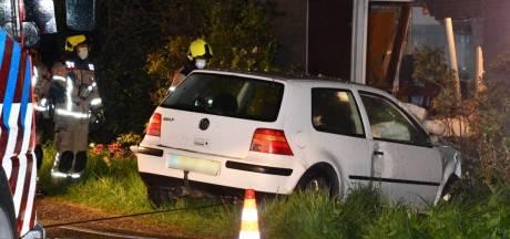 30-jarige Oostburger rijdt onder invloed van cocaïne woning binnen