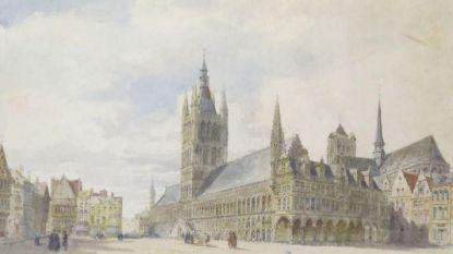 Yper Museum verwerft unieke aquarel over Ieper