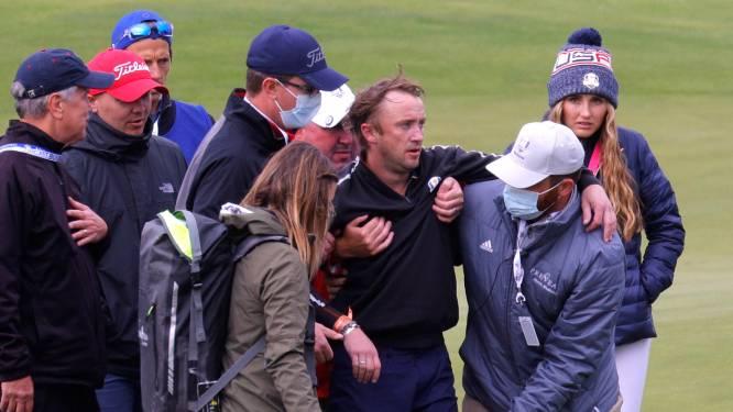 Tom Felton s'effondre en plein match de golf