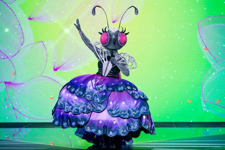 De vlinder in The Masked Singer Beeld RTL4