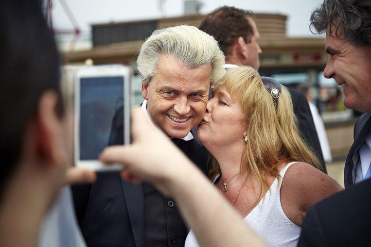 PVV-boegbeeld Geert Wilders. Beeld Phil Nijhuis