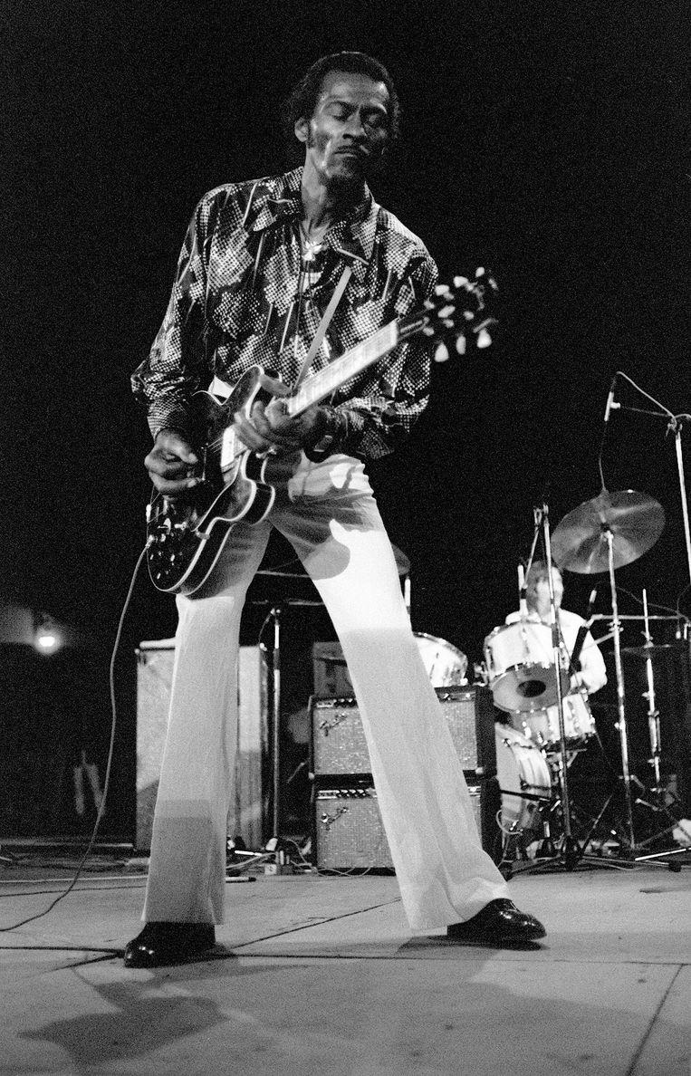 Chuck Berry in 1981. Beeld afp