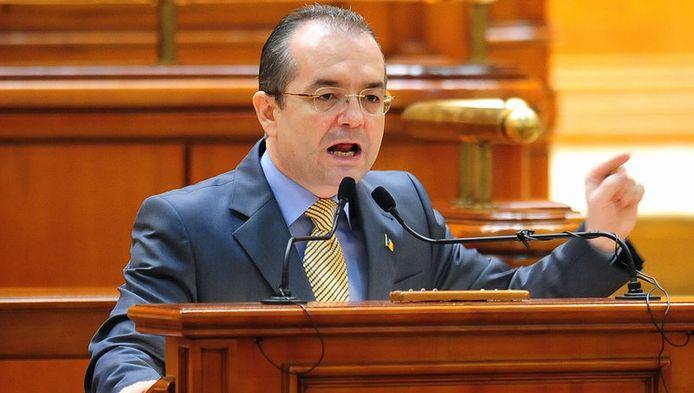 De Roemeense premier Emil Boc.