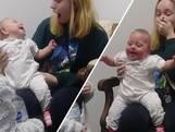 Baby Scarlet kan voor het eerst goed horen