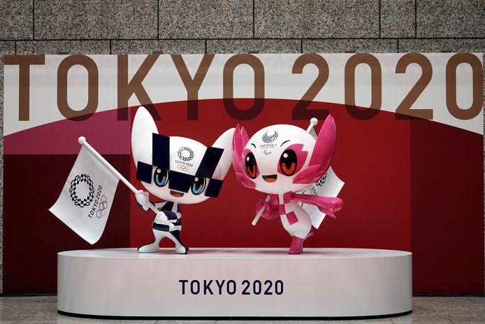 Miraitowa et Someity, les mascottes officielles des JO de Tokyo 2020