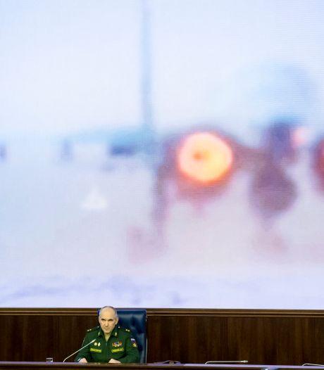 Meeste Russische gevechts-vliegtuigen weg uit Syrië