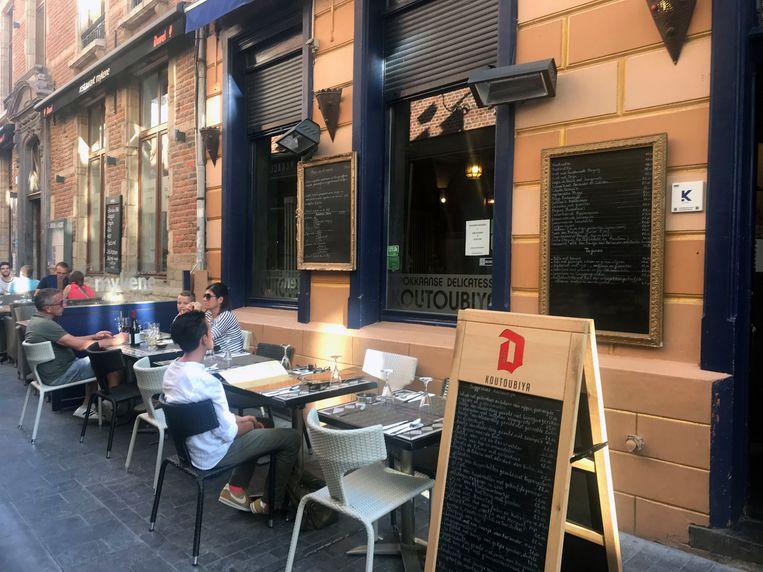 Restaurant Koutoubiya in de Leuvense Muntstraat.